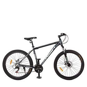 Гірський Велосипед 26 Д. G26PHANTOM A26.1 чорно-сірий