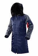 Оригінальна чоловіча куртка AIRBOSS N-7B Shuttle Challenger 17300763221T (синій/сірий сталевий)