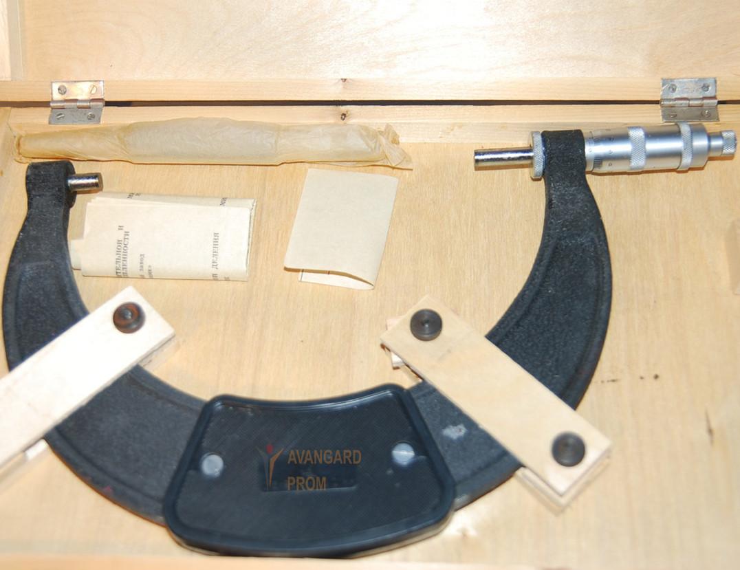 Микрометр гладкий МК 175-200 мм (СССР ГОСТ 6507-90)