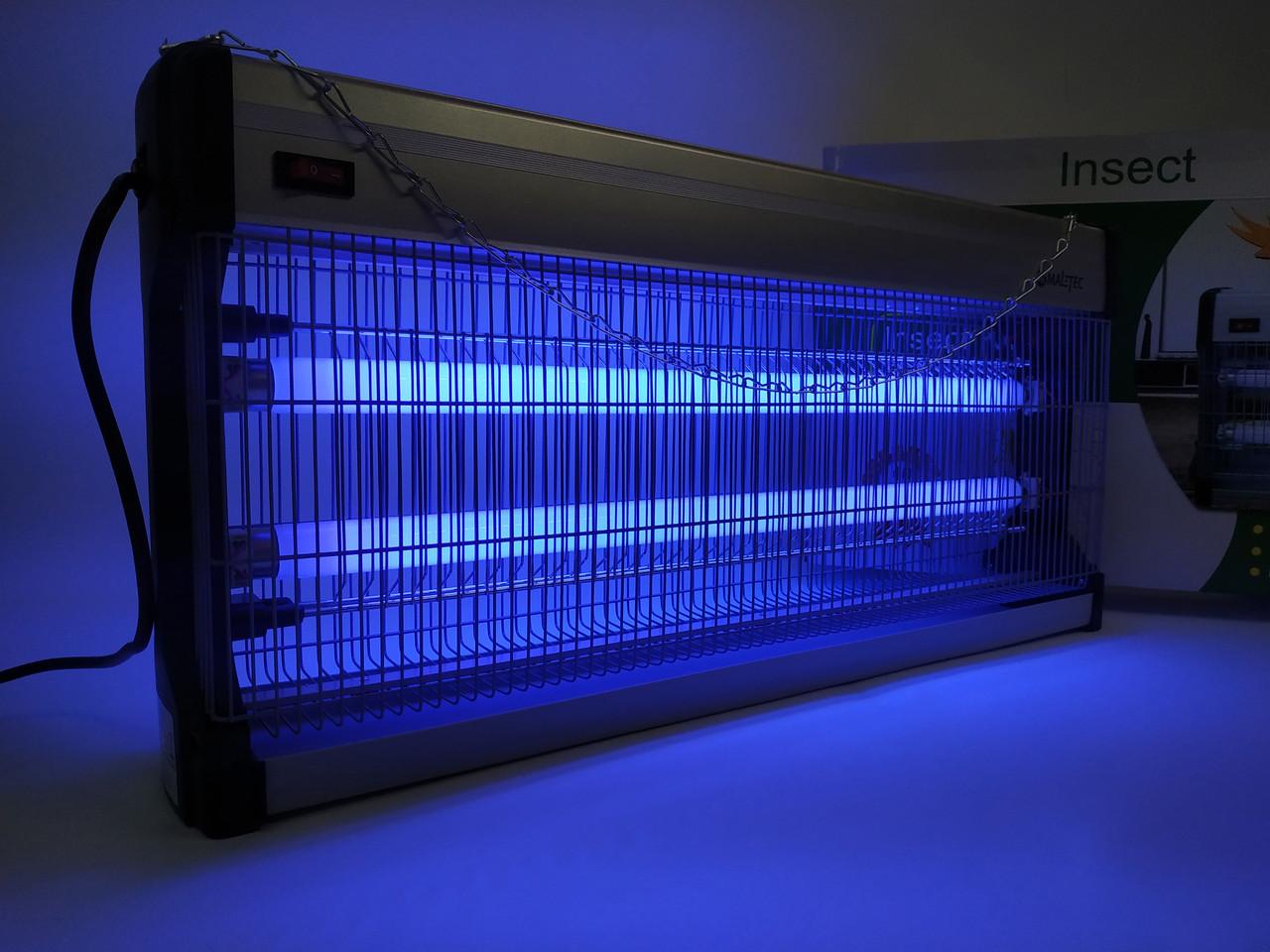 Інсектицидна лампа Maltec EGO-02-40W  (Уничтожитель насекомых промышленный)