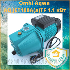 Водяной насос для дома Omhi Aqwa JET100A(a)TF 1.1 кВт