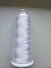 Нитки для  вышивки   Madeira Classic №12.  цвет 1001 ( БЕЛЫЙ ).   2000 м