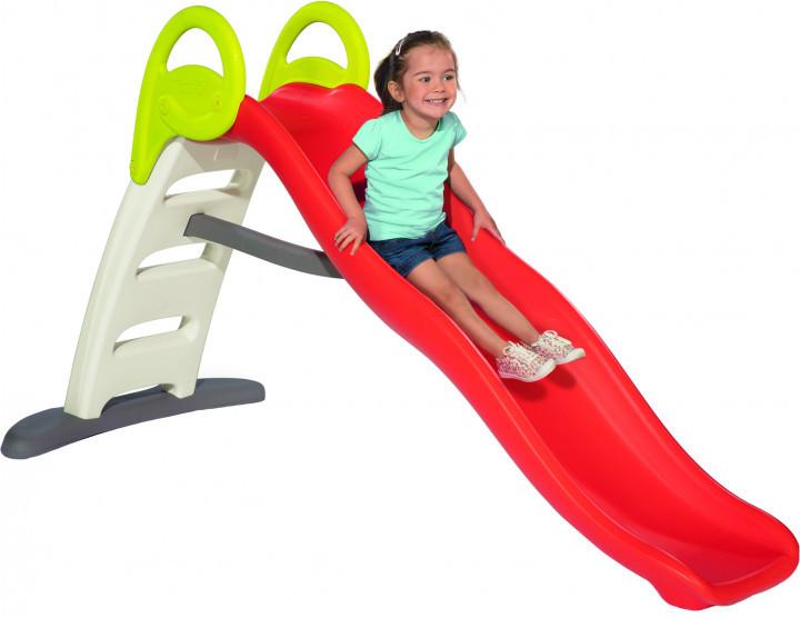 Детская горка Smoby Toys Веселая волна с водным эффектом 820402