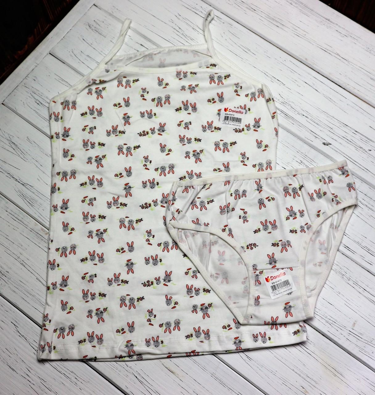 Детский комплект  нижнего белья для девочки 8\9 Donella