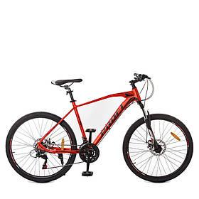 Гірський Велосипед 26 Д. G26VELOCITY A26.2 червоно-чорний