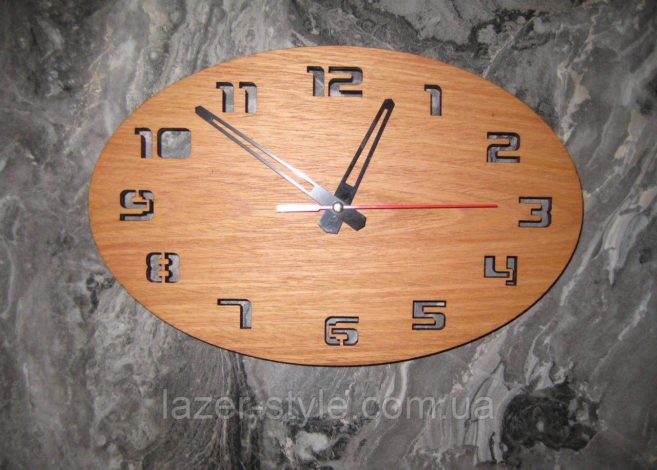 """Авторские часы """" Овал 12 цифр"""""""