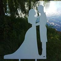 Вау! Стильный Деревянный Топпер 25х12 см №6, Белый