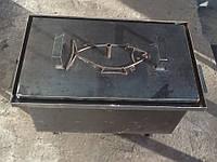 Коптильня с ножками 550х310х300мм