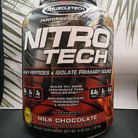 Muscletech NitroTech 1.8 kg изолят, фото 1