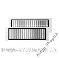 Фильтр 2 штуки для робота-пылесоса Xiaomi Mijia / RoboRock S50 S51 S55 S5 Max S6 E20 C10 Xiaowa