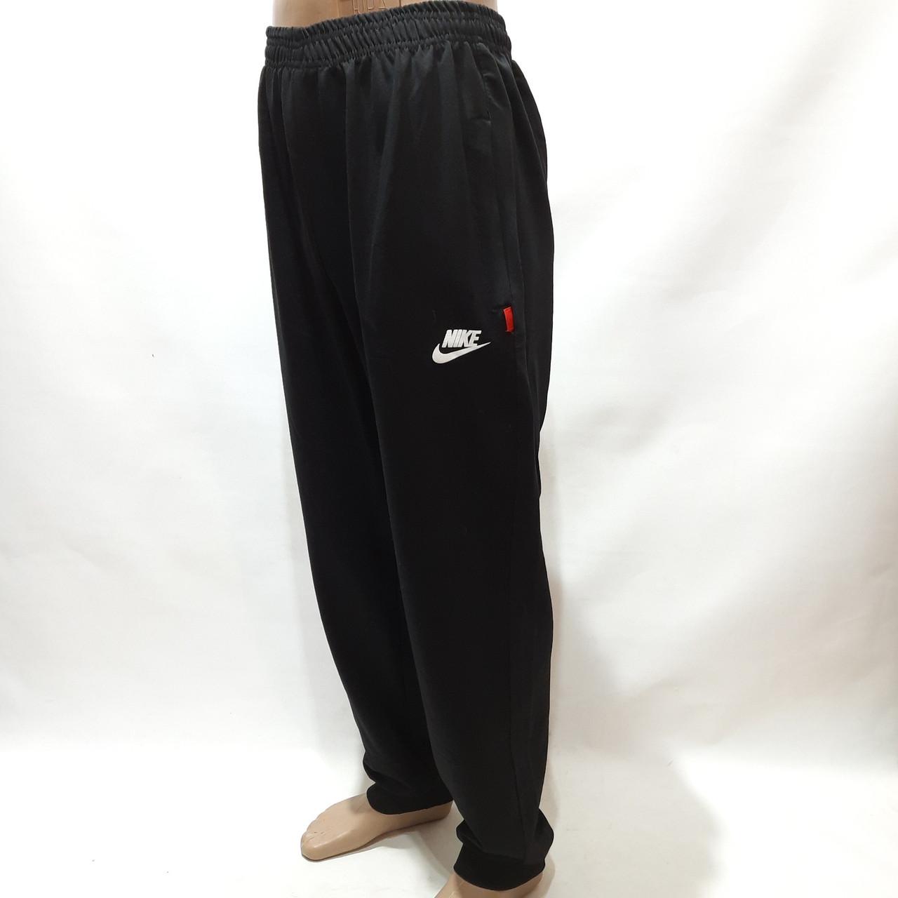 Чоловічі штани під манжет (Більше розміри) в стилі Nike відмінної якості чорні