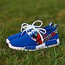 Женские кроссовки голубые (Код: 200), фото 3