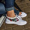 Женские кроссовки белые (Код: 200), фото 5