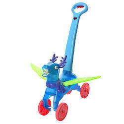 Дитяча Олень-каталка з мильними бульбашками FH889 Bubble Cart
