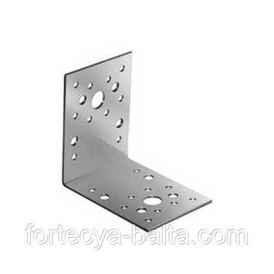 Крепежный угол металлически (80х80х60х2) 90