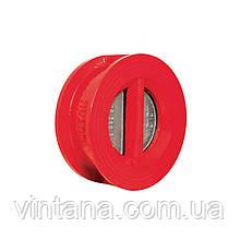 Обратный клапан двухстворчатый PN 16, EN GJS 450 10, Disc: SS316 ( DN 050, DN065, DN080, DN100, DN125, DN150,