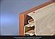 Плинтус пластиковый ТЕКО Люкс 0001 орех светлый с кабель каналом, широкий по полу, мягкие края, фото 3