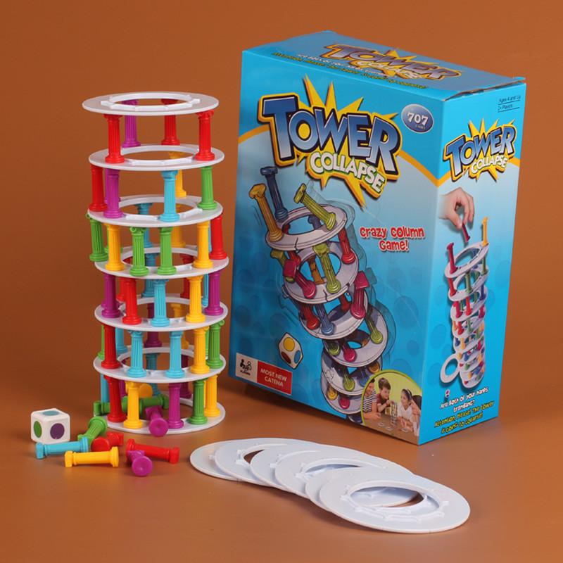 Настольная игра Падающая Башня (Tower collapse) Дженга 147