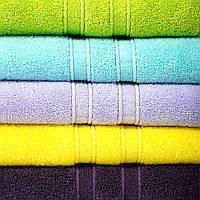 Махровое полотенце Aqua Fiber Premium 50*90 разные цвета, фото 1