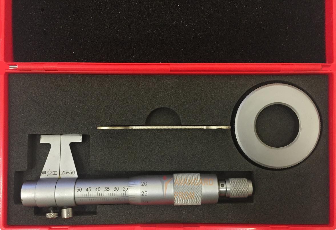 Нутромір мікрометричний 25-50 мм (упаковка пластик)