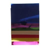 Цветной картон А4 6цв/10л ʺМеталликʺ 7398