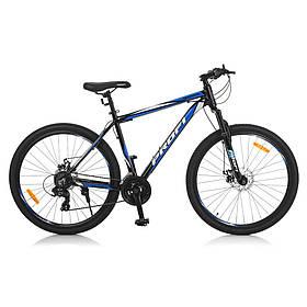 Гірський Велосипед 26 Д G275GRAPHITE A27.5.1 чорно-синій