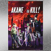 Плакат Аниме  Akame ga Kill 04