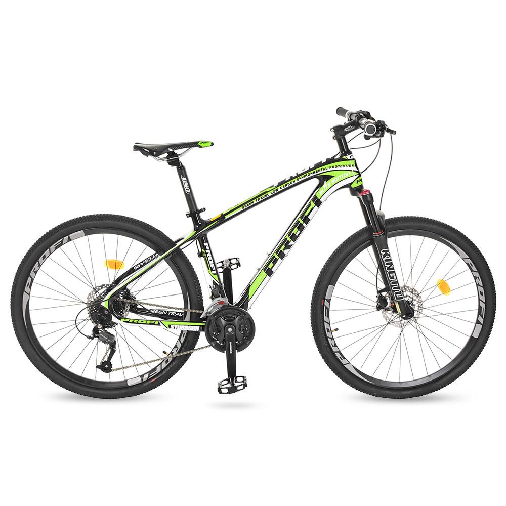 Горный Велосипед 27,5 EB275STUBBORN CB275.3 черно-зеленый