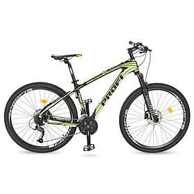 Гірський Велосипед 27,5 EB275STUBBORN CB275.3 чорно-зелений