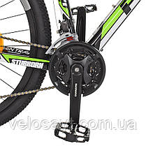 Горный Велосипед 27,5 EB275STUBBORN CB275.3 черно-зеленый, фото 3