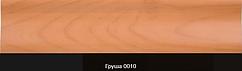 Плінтус пластиковий ТЕКО Люкс 0010 Груша з кабель каналом, широкий по підлозі, м'які краю