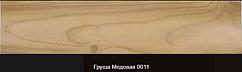 Плінтус пластиковий ТЕКО Люкс 0011 Груша медова з кабель каналом, широкий по підлозі, м'які краю