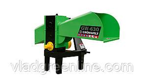 Измельчитель веток Grunwelt GW-130/6 (110 мм, 6 ножей, ВОМ, 25 л.с.)