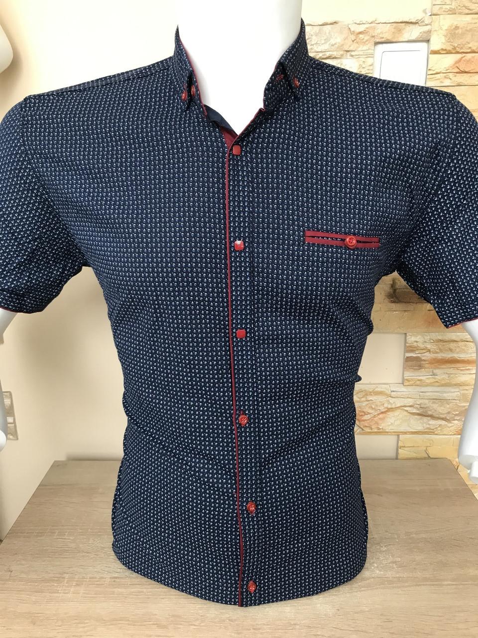 Рубашка короткий рукав X-port с принтом