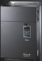 Преобразователь частоты Delta Electronics, 110кВт, 460В,векторный, c ПЛК и прямым упр. моментом,VFD1100С43A
