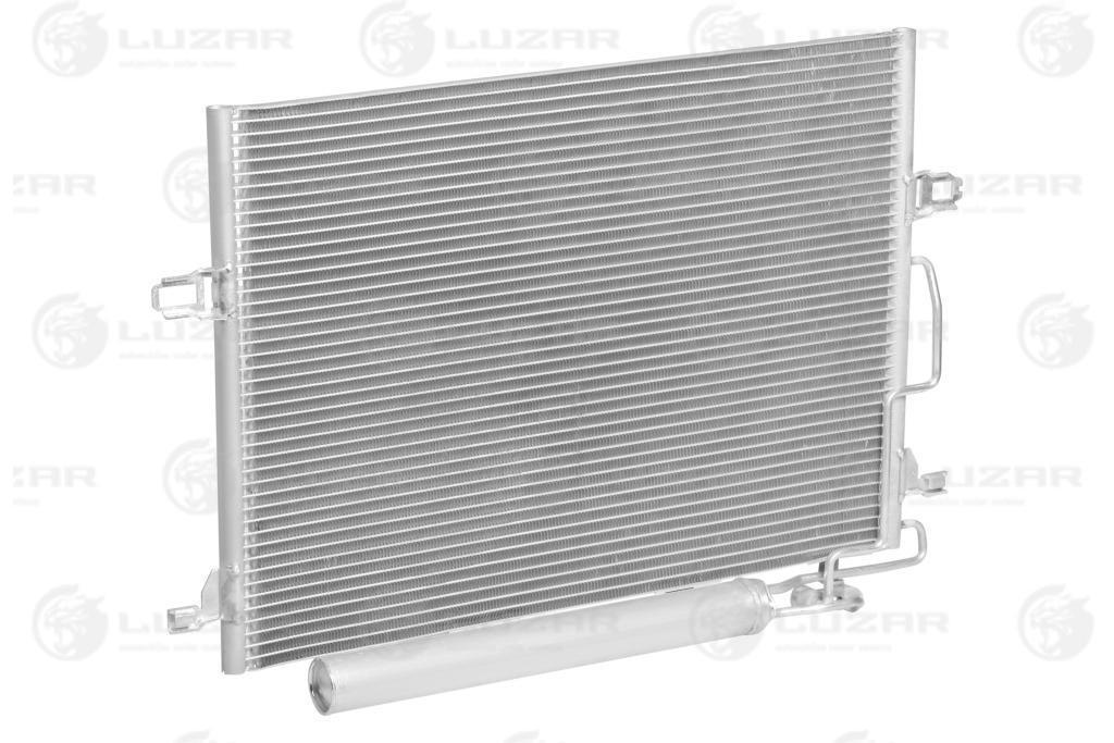 Радиатор кондиционера c ресивером Mercedes-Benz E (W211) (02-) LRAC 1511 LUZAR A2115000154;A2115000254
