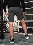 Мужские повседневные шорты BEZET Battle dark iron '19, серые мужские карго шорты, серые карго шорты, фото 4