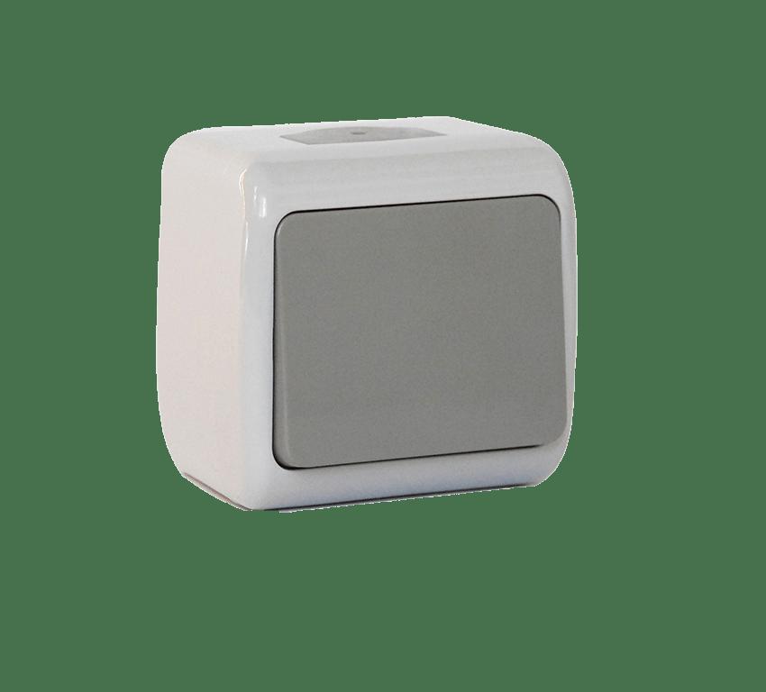 Кнопка дзвінка одноклавішна Erste Outdoo (E8005-00)