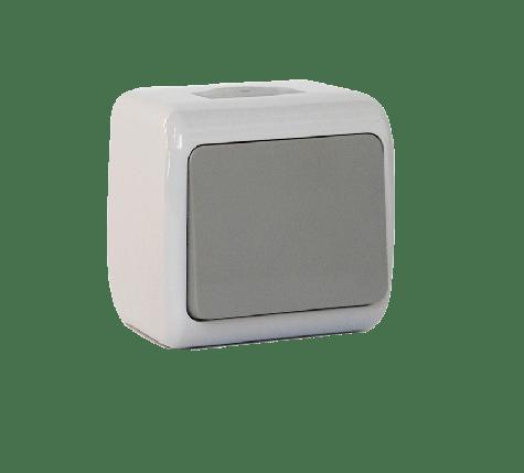 Кнопка дзвінка одноклавішна Erste Outdoo (E8005-00), фото 2