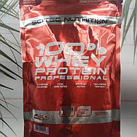 Scitec Nutrition 100% Whey Protein Professional 500g сывороточный протеин 100% белок с сыворотки