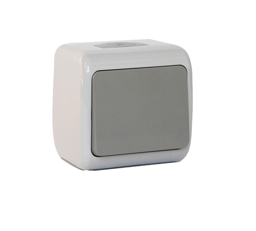 Вимикач одноклавішний Erste Outdoor (E8005-01)