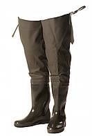 Високі рибальські чоботи-заброди ПС-15Р розмір 45