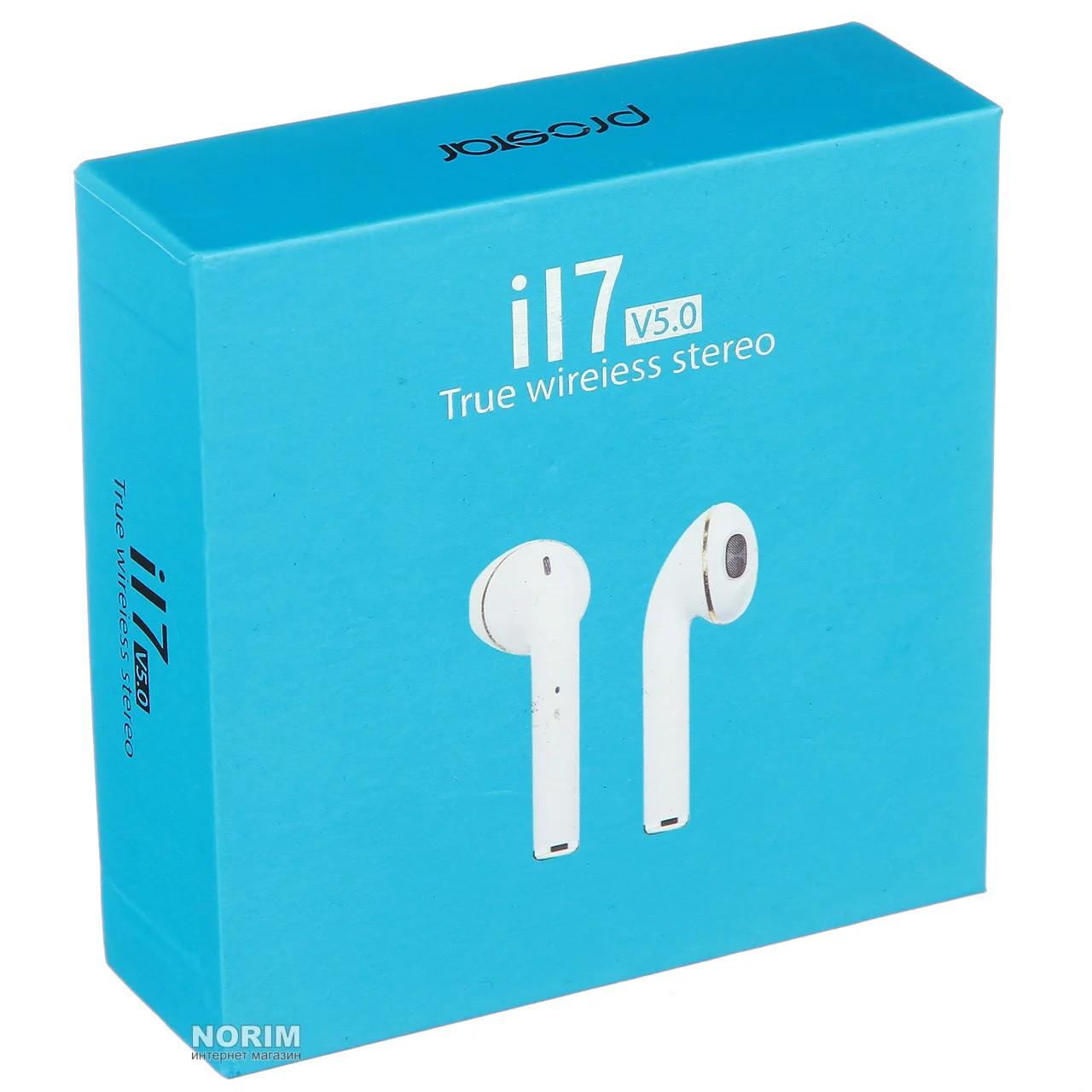 Беспроводные наушники i17 Bluetooth (Без замены брака)