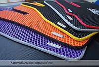EVA коврики в салон Lada 2110-2112 2000- (black) (EVA-Standart)