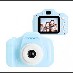 Дитячий цифровий фотоапарат Kids Camera GM14 з записом відео Синій