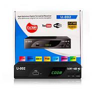 ТВ Приставка ресивер T2 U-0002 Черная