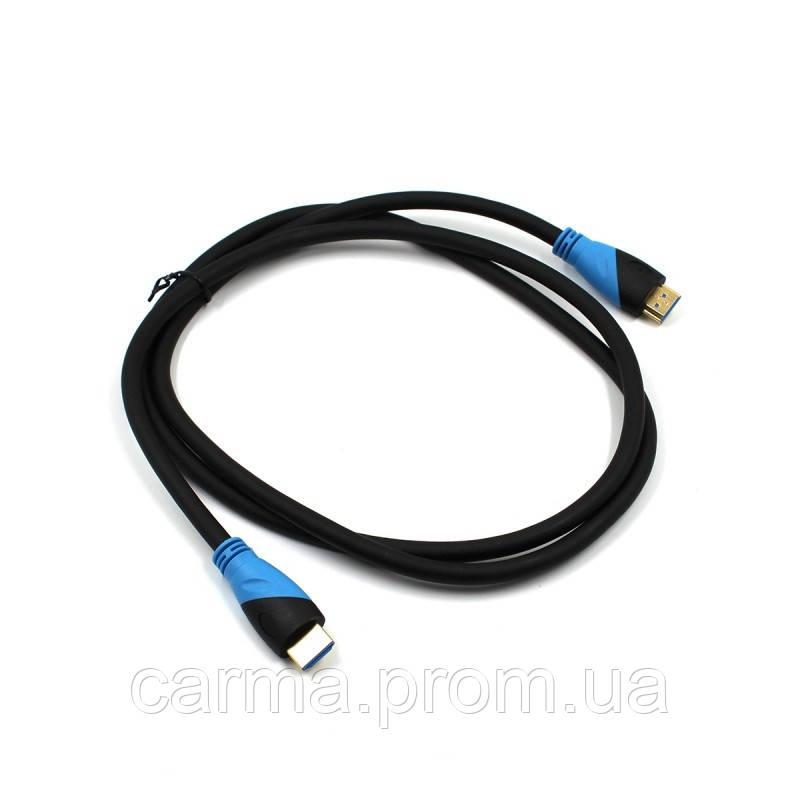 Кабель HDMI-HDMI 2.0 1.5 м Черный