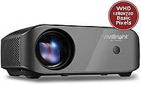 LCD Проектор Vivibright F10 2800 люмен, Домашний кинотеатр, WiFi 1080P
