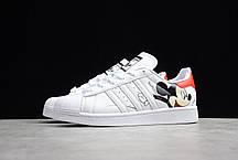 "Кроссовки Adidas Superstar Mickey Mouse ""Белые"", фото 2"