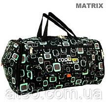Дорожня спортивна сумка RGL 25C 74л чорний з сірим